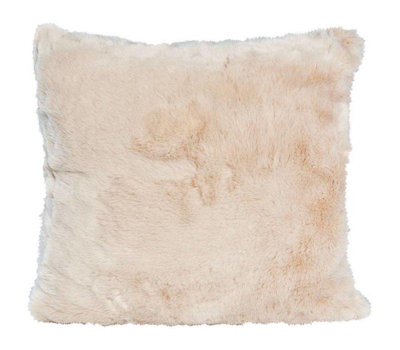 Seal Sand Full Fur  Kissen im 2er Set, 45 x 45 cm