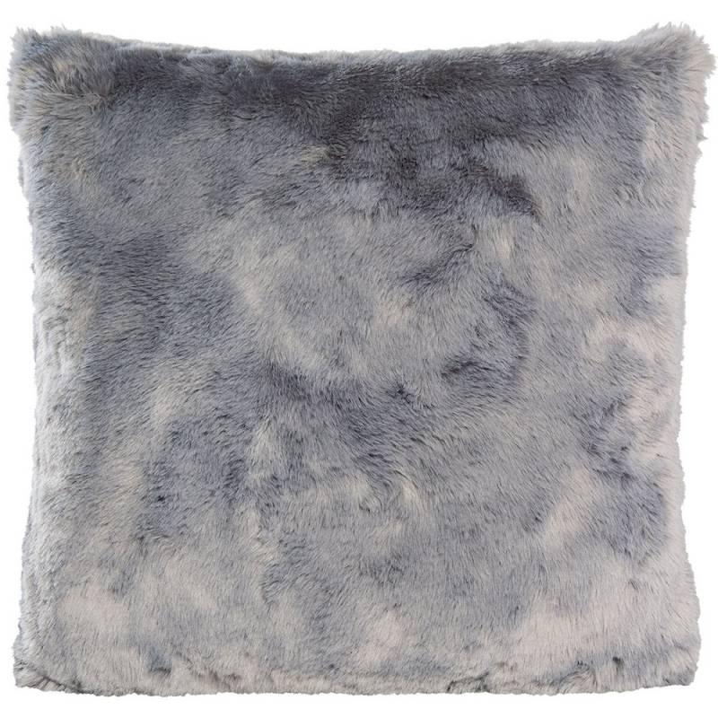 Winter Home Seal Silvergrey Full Fur  Kissen im 2er Set, 45 x 45 cm