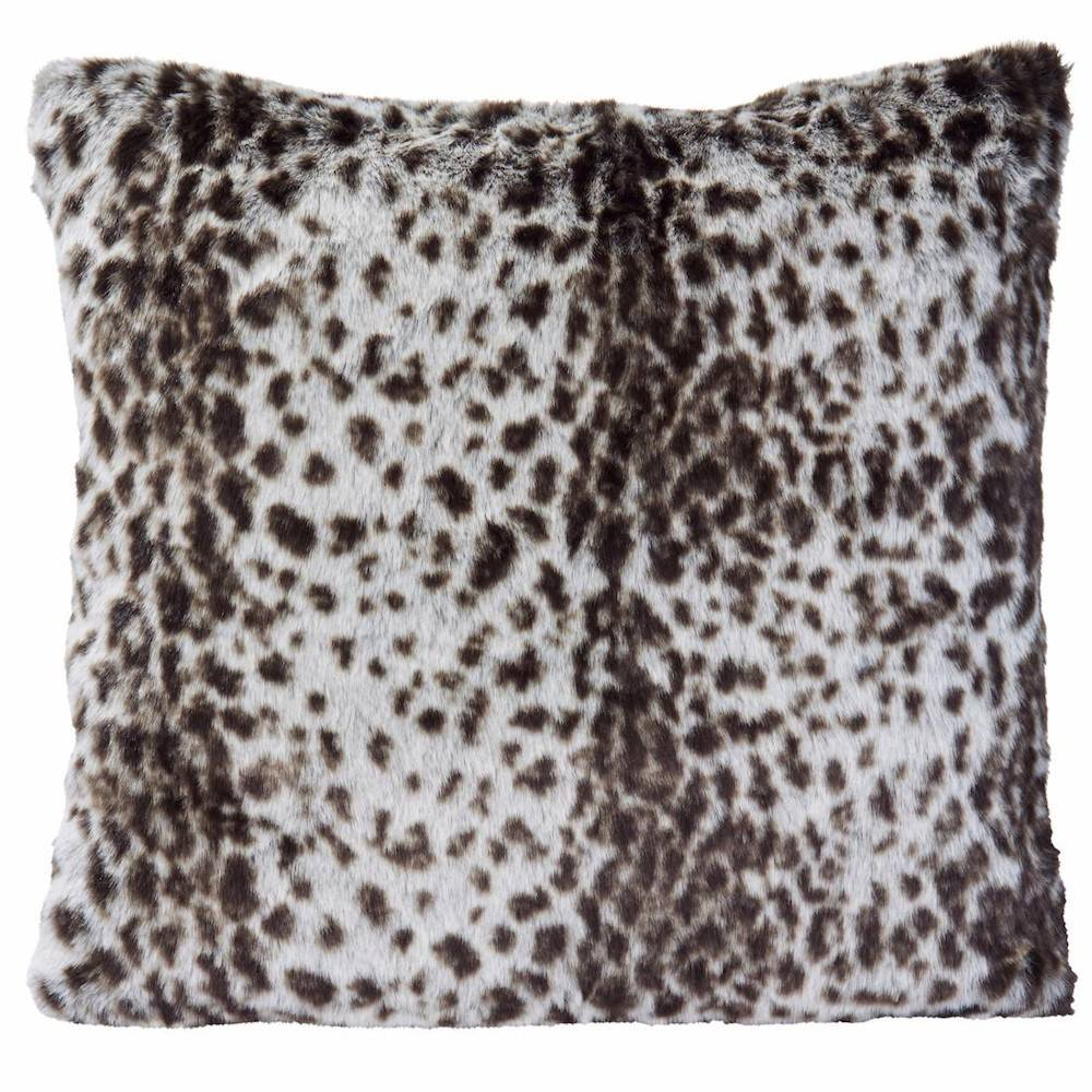 Winter Home Serval Full Fur  Kissen im 2er Set, 45 x 45 cm