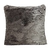 Winter Home Timberwolf Full Fur  Kissen im 2er Set, 60 x 60 cm