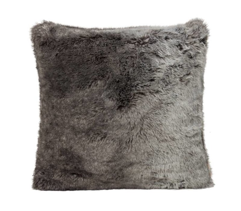 Timberwolf Full Fur  Kissen im 2er Set, 60 x 60 cm