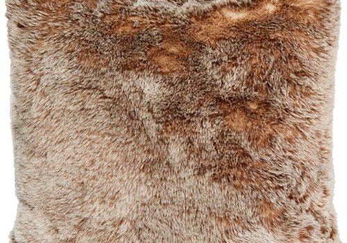 Winter Home Tundrawolf Full Fur  Kissen im 2er Set