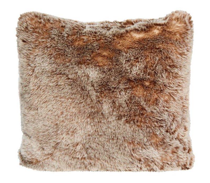 Tundrawolf Full Fur  Kissen im 2er Set, 45 x 45 cm