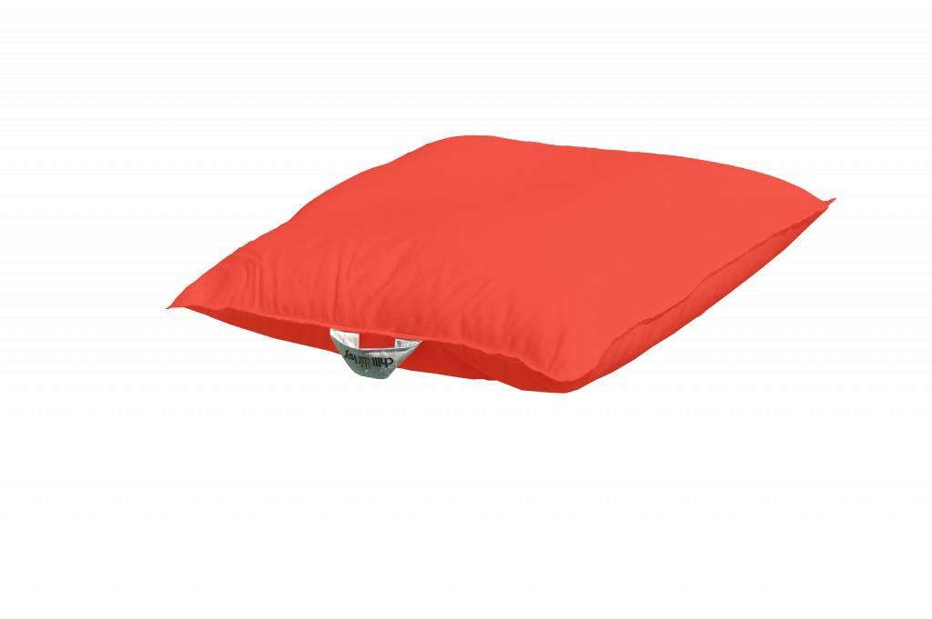 chillisy® Pool cushion Mini 60/60 100/100 - orange