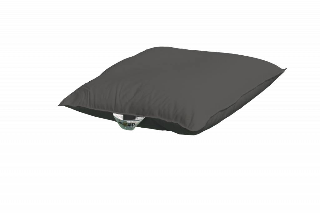 chillisy® Pool cushion Mini 60/60 100/100 - anthracite