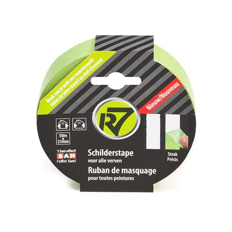 SAM R7 schilderstape voor scherpe verflijnen