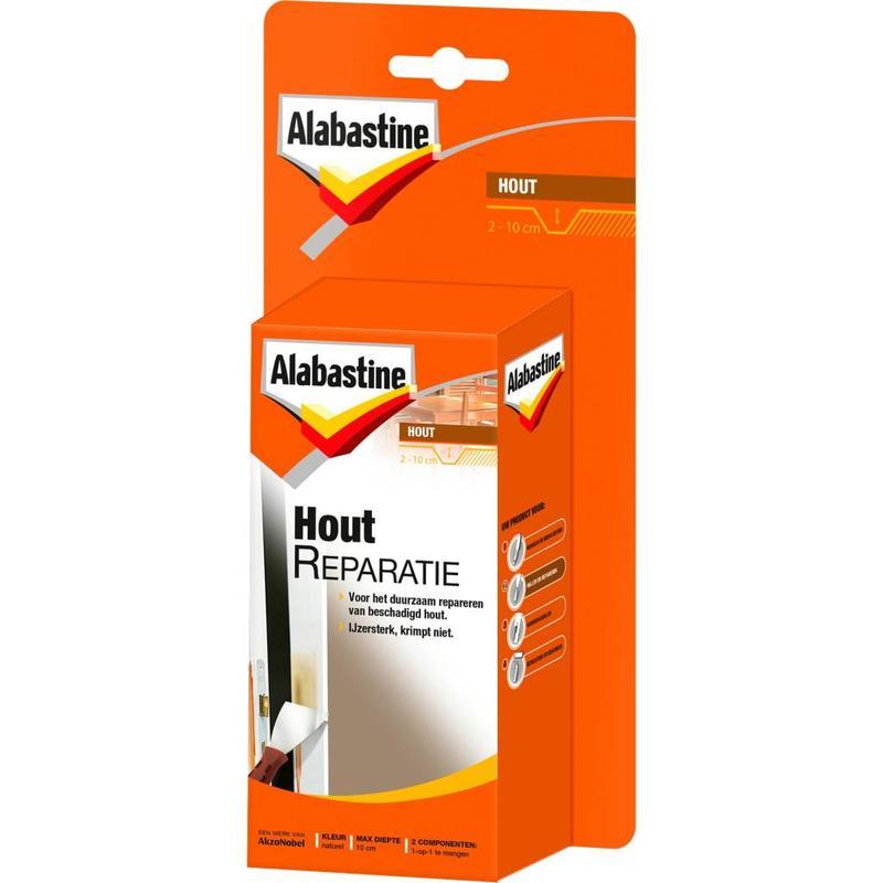 Alabastine Houtreparatie