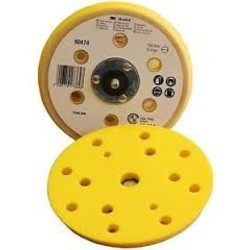 3M Hookit steunschijf geel 150mmx 5/16'