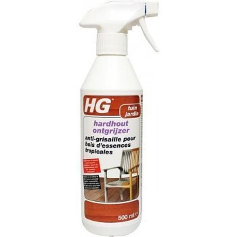 HG hardhout ontgrijzer 500 ml.