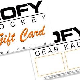 ROFY HOCKEY GEAR KADO (Gift Card)