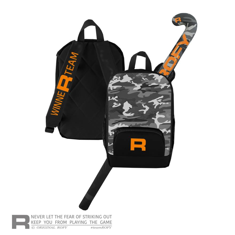 ROFY BACKPACK JUNIOR - GREY CAMO