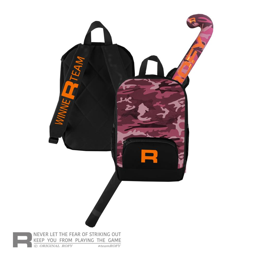 ROFY BACKPACK JUNIOR - PINK CAMO