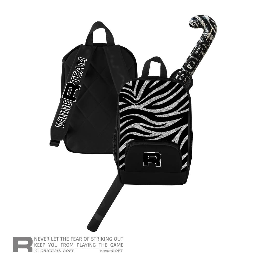 ROFY BACKPACK JUNIOR - MODERN ZEBRA