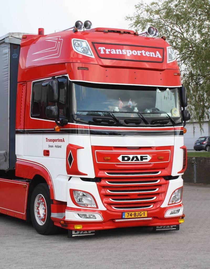 Spoiler DAF XF Euro 6