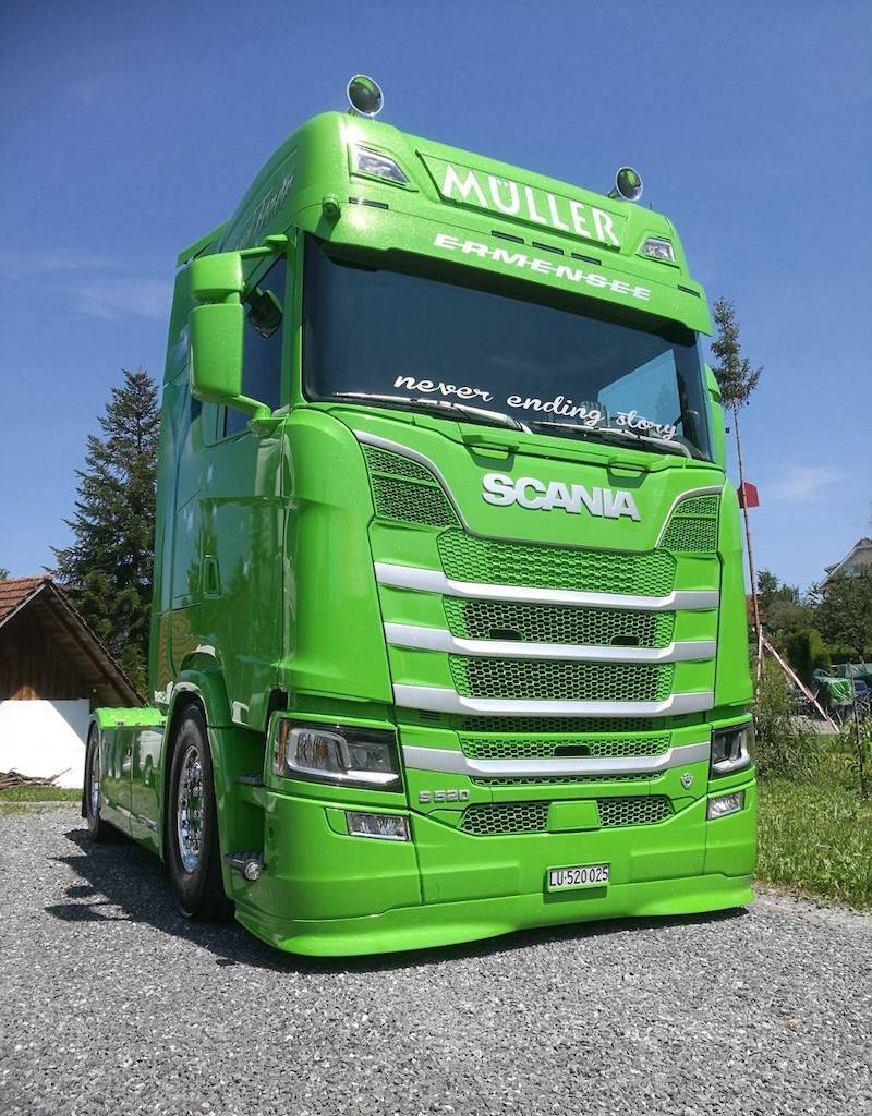 Splitter for Scania Next Generation