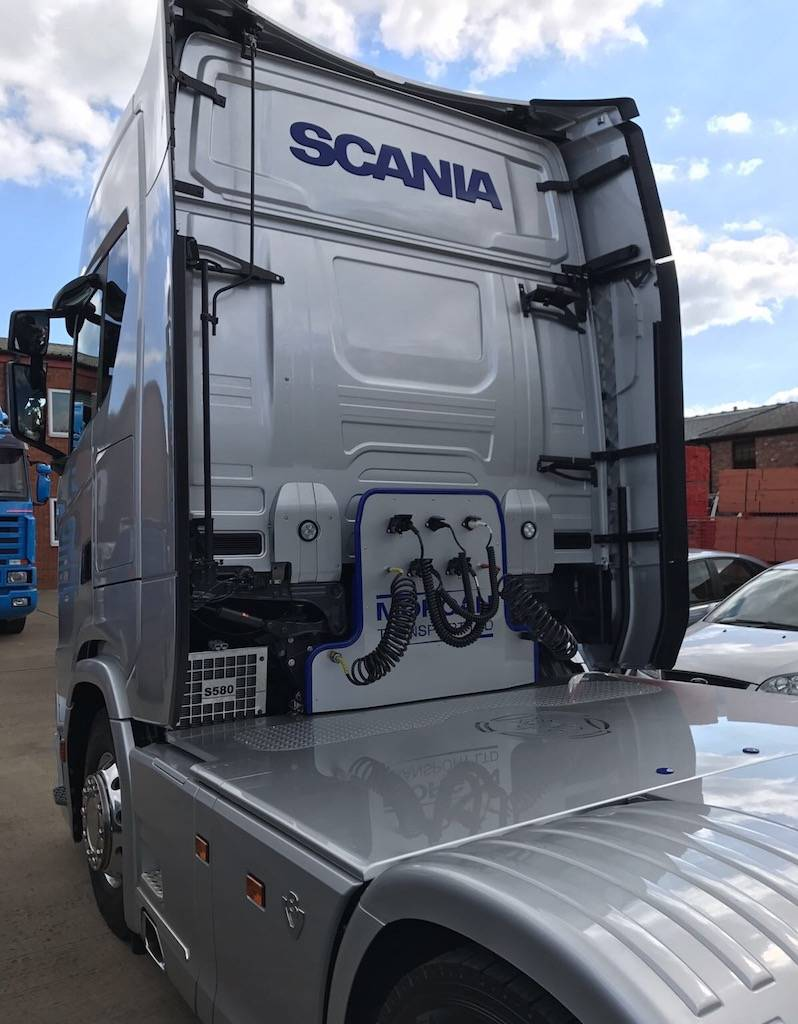 Suspension Covers Scania S-series