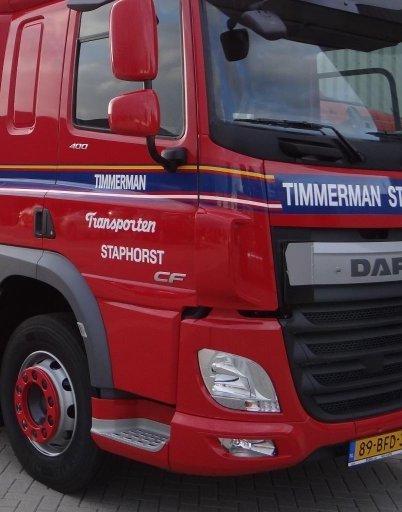Door extensions DAF CF Euro-6 MX13