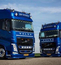 Volvo FH4 Zonneklep verlaagd