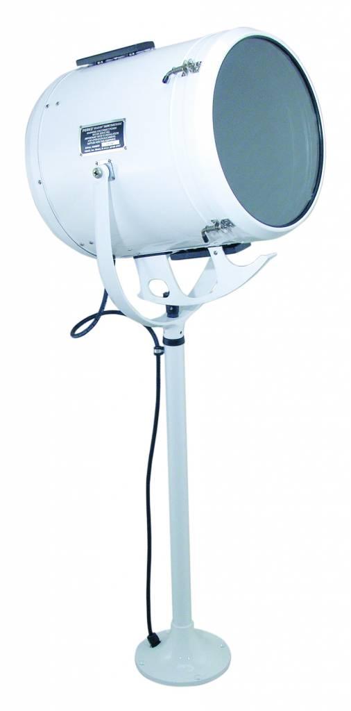 """Perko 10/12/14"""" Halogen Searchlight Lever/Gear Control (150 - 1000W)"""