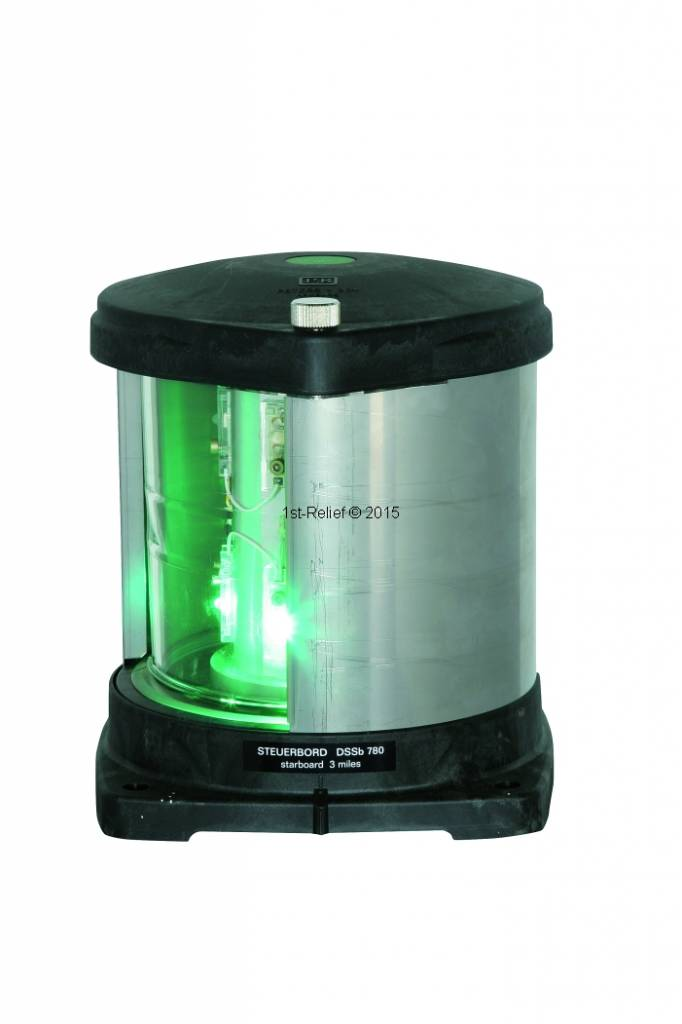 Peters&Bey LED Navigationlight / Lantern 780 - Starboard