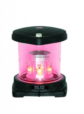 Peters&Bey LED Allround Navigationlight / Lantern 780 - Signal red