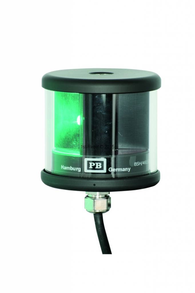 Peters&Bey LED Navigationslicht / Laterne 580 - Steuerbord