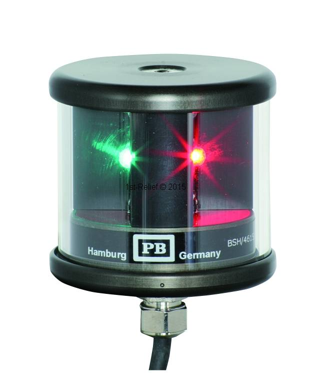Peters&Bey LED Navigationslicht / Laterne 580 - Doppel-Seitenlicht