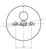 Peters&Bey LED Navigatieverlichting / Lantern 580 - Signal light red