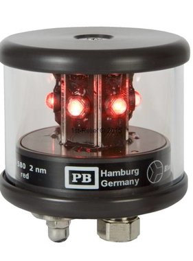 Peters&Bey LED Navigatieverlichting / Lantern 580 - Signal light red