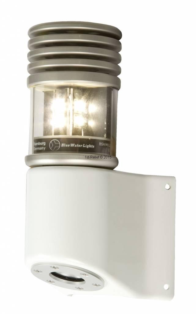 Peters&Bey LED Navigationlight / Lantern 580 - Masthead light white 5 NM incl. Mastbracket (black or silver)