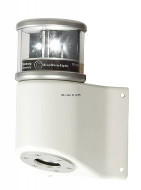 Peters&Bey LED Navigatieverlichting / Lantern 580 - Masthead light white incl. Mastbracket (all white)