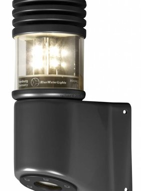 Peters&Bey LED Navigationlight / Lantern 580 - Masthead light white 5 NM incl. Mastbracket (black or silver)