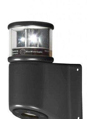 Peters&Bey LED Navigationslicht / Laterne 580 - Topplicht weiß inkl. Masthalterung (schwarz oder silber)