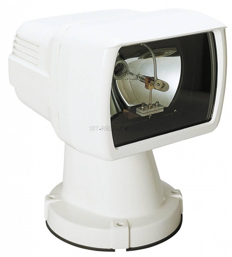 "Sanshin 6"" Xenon Cabin Searchlight (24 VDC / 300 W) with lamp, control panel and 2 m cable"