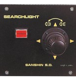 "Sanshin 6"" Xenon Cabin Searchlight (24 VDC / 150 W) with lamp, control panel CPF99 and 2 m cable"