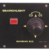 """Sanshin 6"""" Xenon Cabin Zoeklicht (24 VDC / 150 W) met lamp, bedieningspaneel CPF99 en 2 m kabel"""