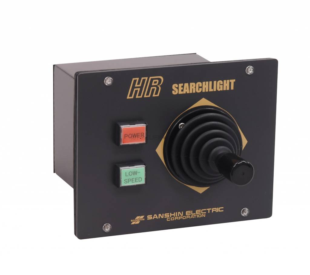 "Sanshin 10x4"" HID Cabin Scheinwerfer (24 VDC / 2x35 W) with lamp, control panel CPF185 and 5 m cable"