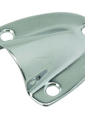 "Perko Chrome Plated Brass Clamshell Ventilator - 1 - 5/8"" X 1 - 1/2"""