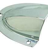 "Perko Chrome Plated Brass Clamshell Ventilator - 4"" X 3 - 3/4"""