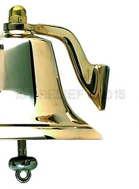 "Perko 6"" Niebla Bell - Bronce Pulido"