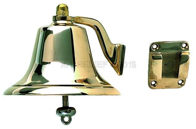 "Perko 8"" Niebla Bell - Bronce Pulido"