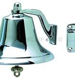 """Perko 8"""" Fog Bell - Chrome Plated Bronze"""