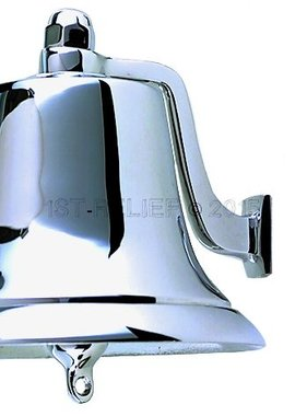 "Perko 8"" Fog Bell - Polished Bronze"