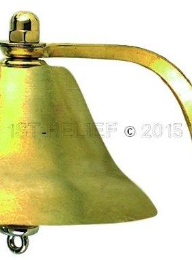 "Perko 6"" Niebla Bell - Latón Llanura"
