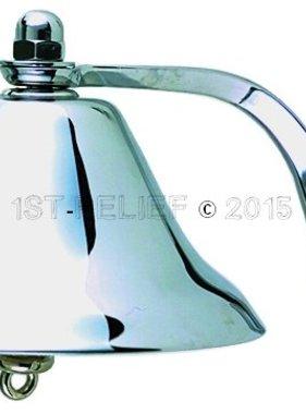 """Perko 8"""" Fog Bell - Chrome Plated Brass"""