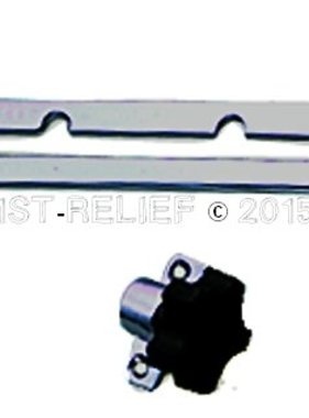 Perko Windshield Adjuster, Ceiling mounting, PAIR