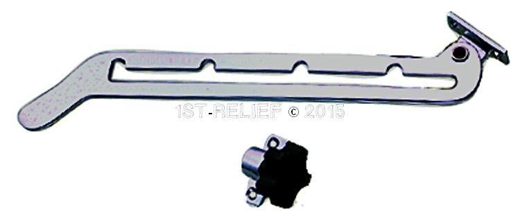 Perko Ajustador Parabrisas, montaje de techo, PAR