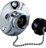 Perko Spare Plug with Chain for Water Inlet Fitting for Obtaining Water at Dockside
