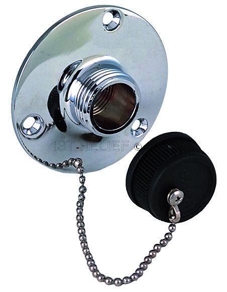 Perko Water Outlet Montage voor gebruik met de On-Board Washdown Systems