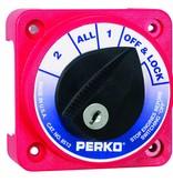Perko Kompakter Batterie-Umschalter (optional mit Schloss)
